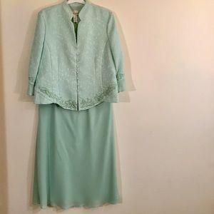 Draper's & Damon's Mother of Bride Skirt Jacket